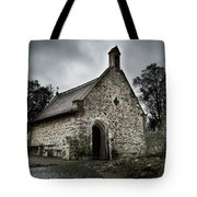 Church At Castle Frankenstein Tote Bag