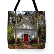 Church At Micanopy Tote Bag