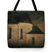 Church At Twilight Tote Bag