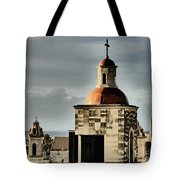 Church Bell Tower, Old Havana Tote Bag