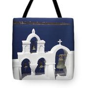 Church Bells And The Sea Tote Bag