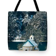 Church By The Achensee Tote Bag