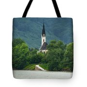 Church By The Danube Tote Bag