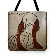 Church Day - Tile Tote Bag