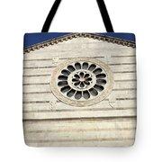 Church Facade Tote Bag