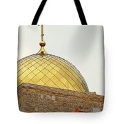 Church Golden Dome Tote Bag