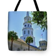 Church In Charleston Tote Bag