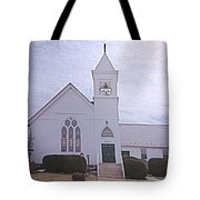 Church In Damascus Maryland Tote Bag