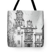Church In Queretaro, Mx Tote Bag
