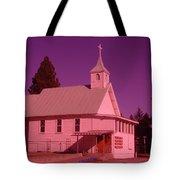 Church In Spirit Lake Idaho  Tote Bag
