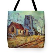 Church In Suffolk  Tote Bag