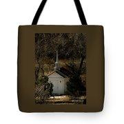 Church In The Garden Tote Bag