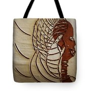 Church Lady 4 - Tile Tote Bag