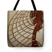 Church Lady 8 - Tile Tote Bag