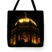 Church Lights Tote Bag
