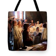 Church Tote Bag by Milan Mirkovic