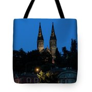 Church Night Tote Bag