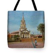 Church Of Caldera Tote Bag