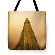 Church Of Fire Tote Bag