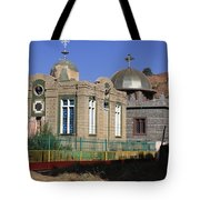 Church Of Our Lady Mary Of Zion Tote Bag