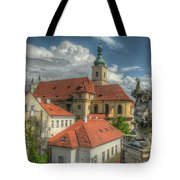 Church Of Our Lady Victorious Tote Bag
