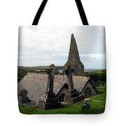 Church Of St. Enodoc Tote Bag