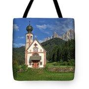 Church Of St. Johann In Ranui Tote Bag