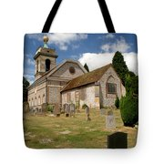 Church Of St. Lawrence West Wycombe 3 Tote Bag