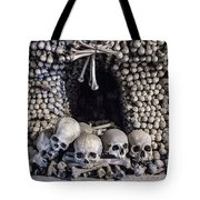 Church Of The Bones Tote Bag