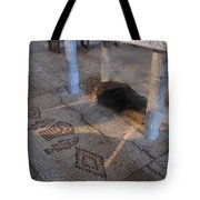 Church Of The Bread And Fish Tote Bag