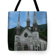 Church Of The Holy Cross Tote Bag