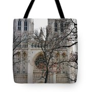 Church Of The Nation Tote Bag