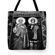 Church Of The Saviour On Spilled Blood, Saint Petersburg #3.    Black And White Tote Bag