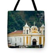 Church Of The Transfiguration Quetzaltenango Guatemala 2 Tote Bag