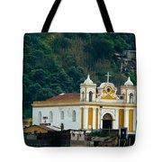 Church Of The Transfiguration Quetzaltenango Guatemala Tote Bag
