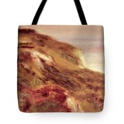 Church On A Clifftop Tote Bag