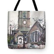 Church On Chelsea Embankment Tote Bag
