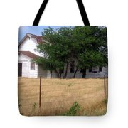 Church On The Grasslands  Tote Bag