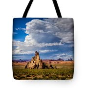 Church Rock Thunderhead Tote Bag