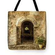 Church Ruins At El Rosario, Sinaloa Tote Bag