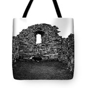 Church Ruins Hvalsey Tote Bag