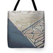 Church Shadow Steps Tote Bag