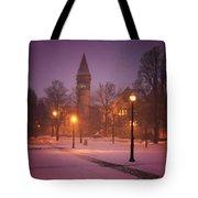 Church Sidewalk Tote Bag
