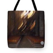 church Spirit Orb Palma de Mallorca Tote Bag