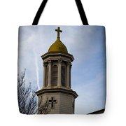 Church Steeple Nashville Tote Bag