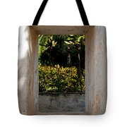 Church Window West Tote Bag