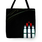 Church Windows Tote Bag