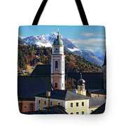 Churches In Berchtesgaden Tote Bag