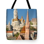 Churches In Budapest Hungary Tote Bag