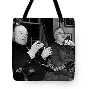 Churchill & Roosevelt Tote Bag